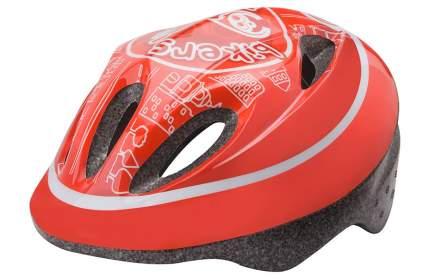 Велосипедный шлем Stels MV-5/600057, красный, One Size
