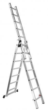 Лестница-трансформер трёхсекционная алюминиевая UPU Ladder UP307
