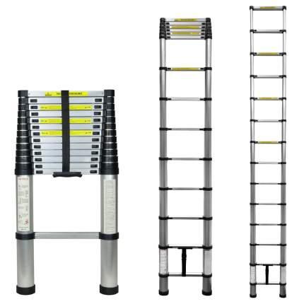 Лестница телескопическая алюминиевая UPU Ladder UP410