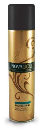 Лак для укладки волос суперфиксация Nova Gold 400 мл