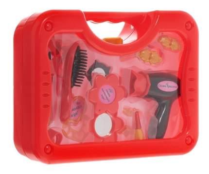 Игровой набор Abtoys Салон красоты в чемоданчике, 16 предметов