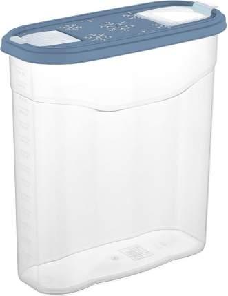 Банка для сыпучих продуктов Plast Team BERGEN 245х105х260 мм 4л туманно-голубая