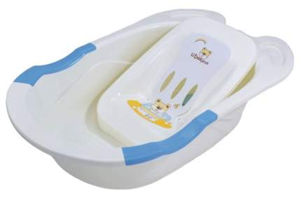 Ванночка пластиковая детская Pituso с горкой для купания 85 см цвет голубой УТ000057766-MG