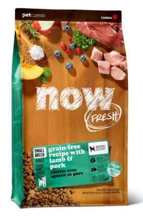 Сухой корм для собак NOW Fresh Adult Small, для мелких пород, ягненок, овощи, 5,45кг