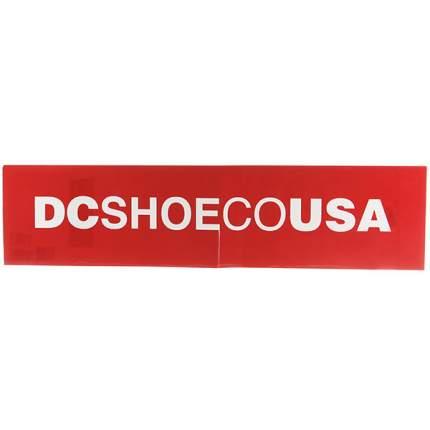Виниловый стикер Skate Sticker, красный, One Size