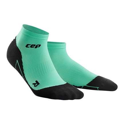 Носки компрессионные CEP Socks1, black/green, 4-6 US