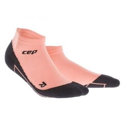 Носки компрессионные CEP Socks, black/pink, 9-11 US