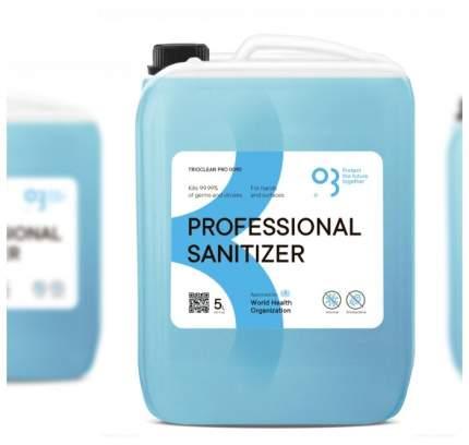 Антисептик дезинфектор для рук и поверхностей TRIOCLEAN Триоклин PRO 0090 5 л