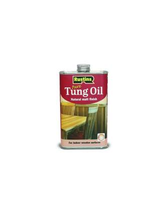 Тунговое натуральное масло Rustins Tung Oil, 1 л./00588