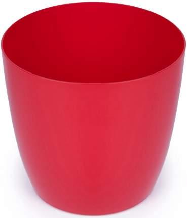 Акиби Кашпо 3,5 л красный (форма бочонок)
