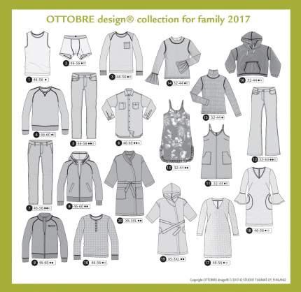 Журнал OTTOBRE design® Family 7/2017