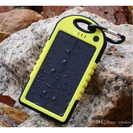 Внешний аккумулятор Lemon Tree Solar Power Bank, 12000 mAh Yellow