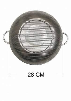 Дуршлаг металл с двумя ручками 28см Заря 4708