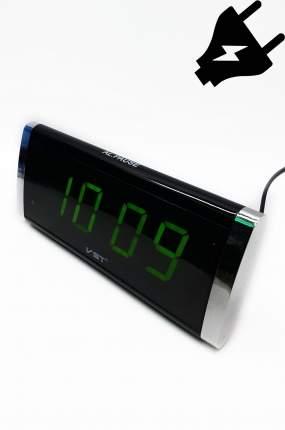 Электронные часы светящее сетевые (Зелёный) 00000035434 VST-730-2