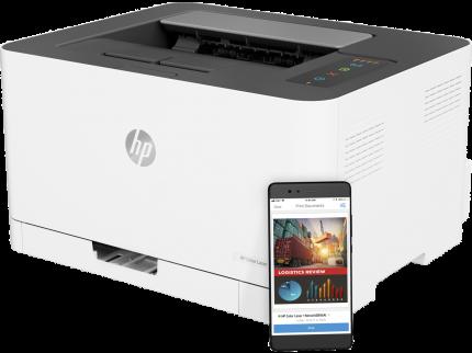 Лазерный принтер HP Color Laser 150nw White