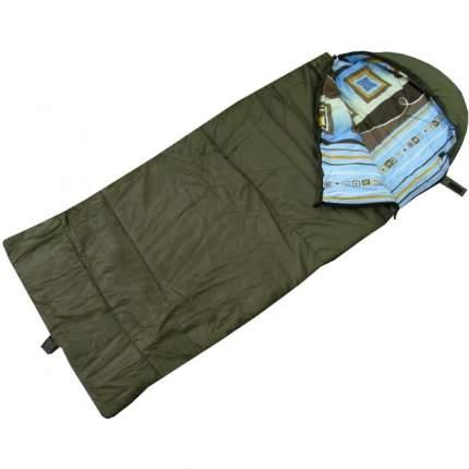 Спальный мешок Helios Батыр Сок-2У зеленый, левый