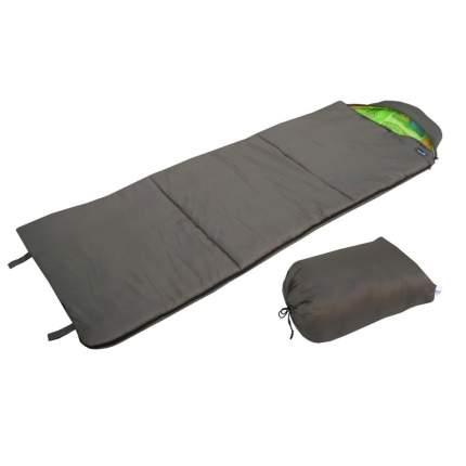 Спальный мешок Helios Батыр Сок-4 зеленый, левый