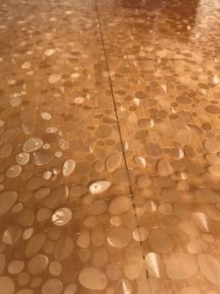 Домовой Прошка. Пленка ПВХ 120*80 Гибкое стекло с рисунком Галька