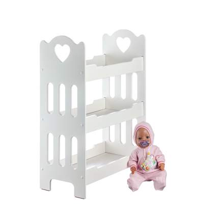 Кровать для кукол трехъярусная Кукольный мир