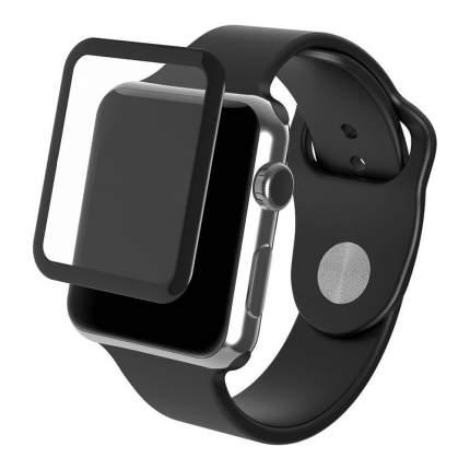 Защитное стекло Nuobi 9H для Apple Watch 44 mm (9D) Black
