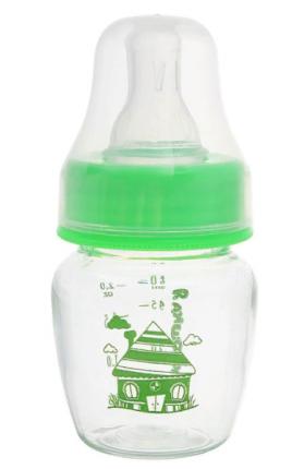 Бутылочка Крошка Я Домик зеленый 60 мл