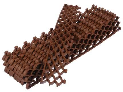 Модульное покрытие Vortex 24058 10 мм площадь 0,19 м2 цвет коричневый
