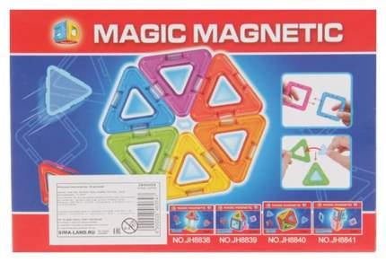 Конструктор магнитный «Геометрические фигуры», 18 деталей Sima-Land