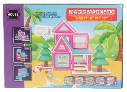 Конструктор магнитный «Забавный домик», 38 деталей Sima-Land