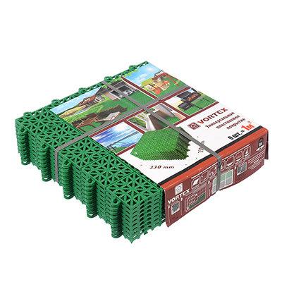 Покрытие пластиковое универсальное Vortex 5365 1 м2 цвет зеленый