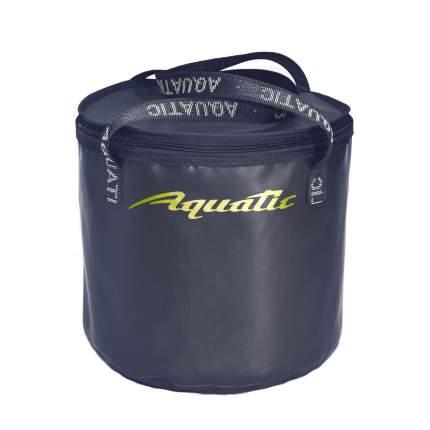 Ведро для замешивания прикормки Aquatic В-04C (30л. герметичное, с крышкой синее)