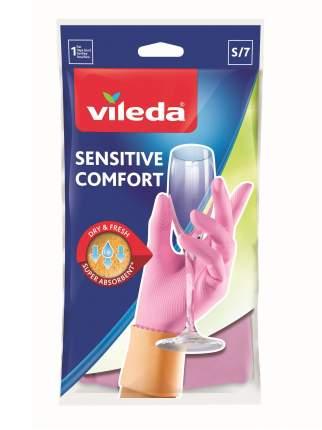 Перчатки для уборки Vileda Sensitive для деликатных работ размер S