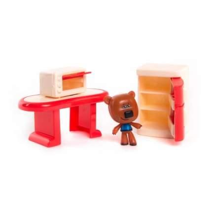 Игровой набор Ми-Ми-Мишки Кеша Столовая комната, 3 детали интерьера