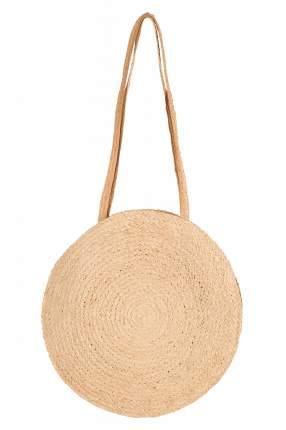 Пляжная сумка женская Finn Flare S19-11201 бежевая