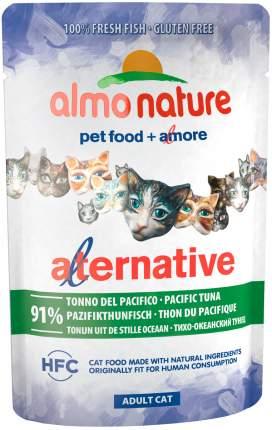 Влажный корм для кошек Almo Nature Alternative, с тихоокеанским тунцом, 55г