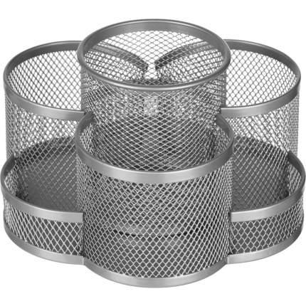 """Подставка для канцелярских принадлежностей """"Attache"""", 7 секции, металлическая сетка, 110x1"""