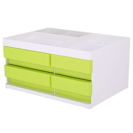 Органайзер настольный Deli EZ25050 Rio белый/зеленый