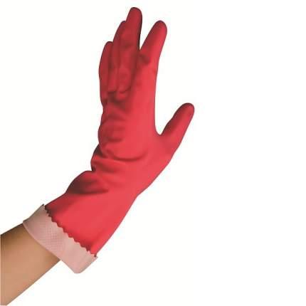 Перчатки розовые Универсал Стайл S