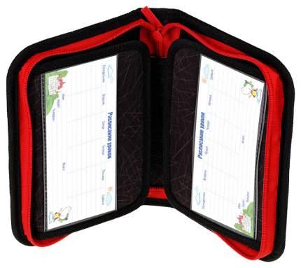"""Пенал """"Hockey"""", 1 отделение, 200x140x40 мм, цвет черный, красный"""