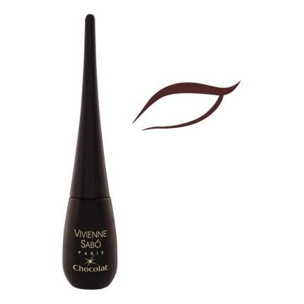 Подводка для глаз жидкая Vivienne Sabo Chocolat тон 03 коричневый