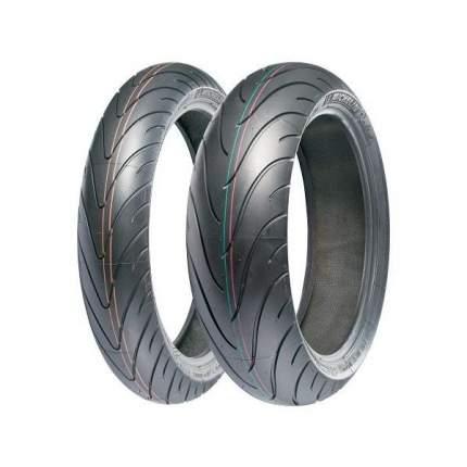 Мотошина Michelin Pilot Road 2 180/55 ZR17 73W TL Задняя (Rear)