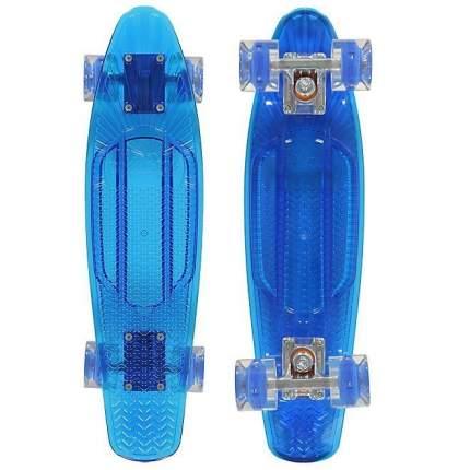 "Пенни борд Sunset Wave 22"" deck blue/wheels blue"