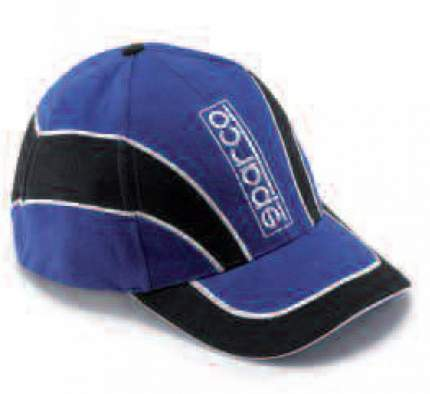 Кепка Jersey сине-черная Sparco 01150BMNR
