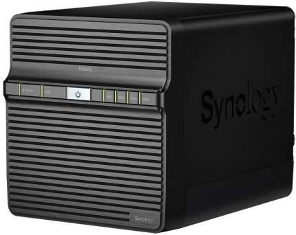 Сетевое хранилище данных Synology DS420J Black