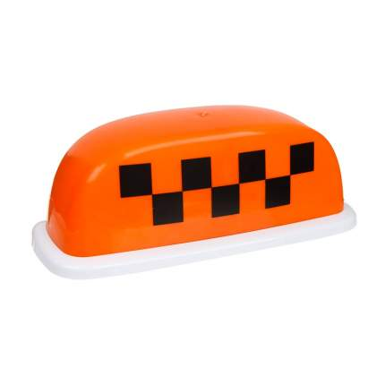 Знак Такси Шашечки Главдор GL-382 25x10x12cm Orange 52461