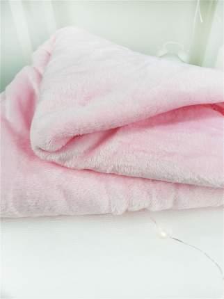 Мягкая подушка с пледом Cherir Корона розовая