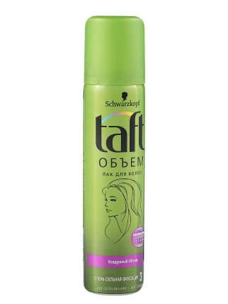 Лак для волос TAFT Воздушный Объем, очень сильная фиксация 75 мл