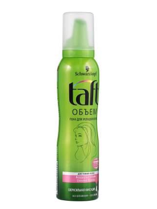 Пена для укладки TAFT Воздушный Объем, для тонких волос, сверхсильная фиксация