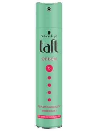 Лак для укладки волос Taft Объём, для тонких и ослабленных волос, мегафиксация 5, 225 мл