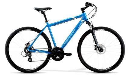 MERIDA Crossway 10-D 2021 синий/белый 52cm