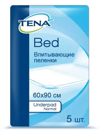 Простыня TENA Underpad Bed 60x90 см, 5 шт.